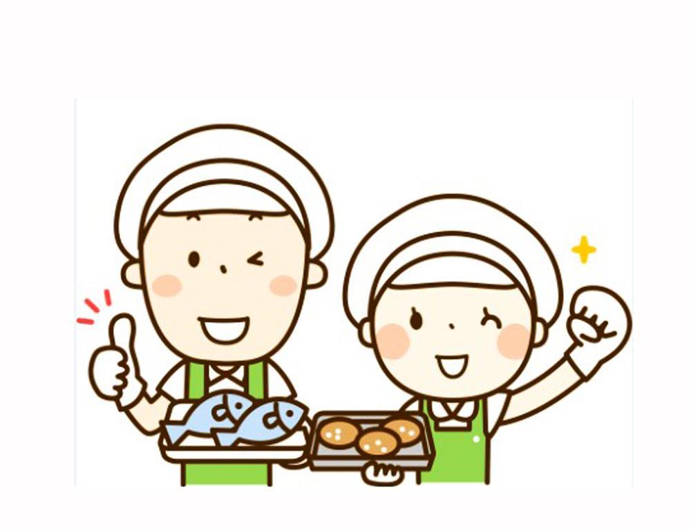 学生寮での簡単な調理補助のお仕事♪
