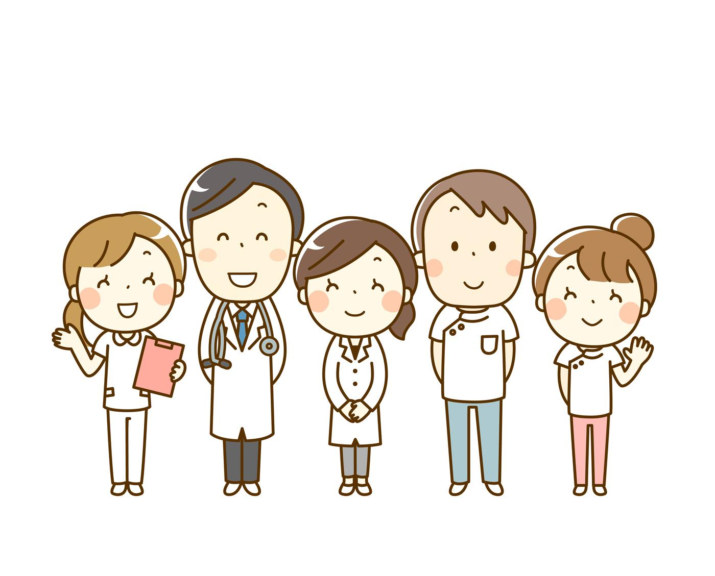 看護師・看護助手・視能訓練士募集!